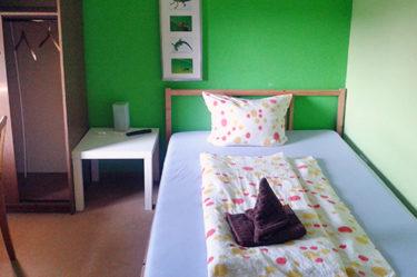 Eiderhufe Heuherberge Grünes Zimmer